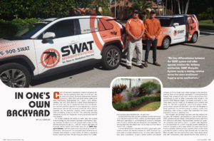 swat mosquito systems featured in the magazine Simply The Best Magazine